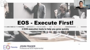 Execute First! - An EOS Workshop Part 1