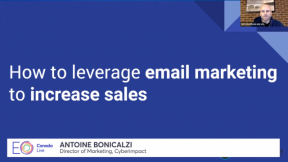 How to Leverage Email Marketing to Increase Sales with Antoine Bonicalzi